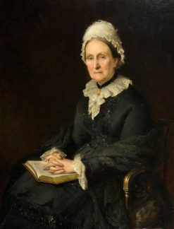 Miss Mary Ann Baxter | Edward Hughes | Oil Painting