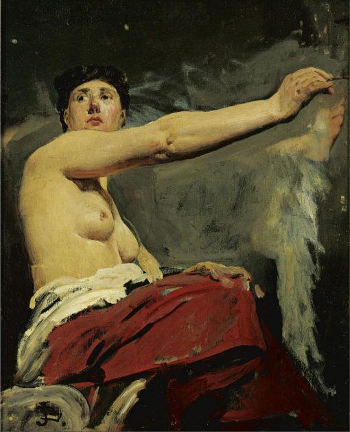 Study | Jean-Paul Laurens | Oil Painting