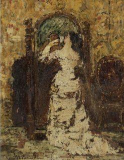 Preparing for Soiree | Adolphe-Joseph-Thomas Monticelli | Oil Painting
