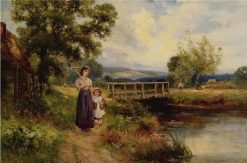 Returning Home | Ernest Walbourn | Oil Painting