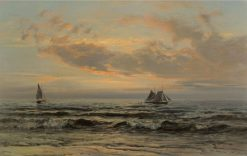 Calming Down | Henry Moore | Oil Painting