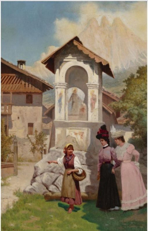 A Visit to Lvov | Vincent G. Stiepevich | Oil Painting