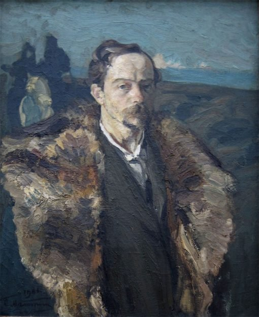Self Portrait | Sergei Malyutin | Oil Painting