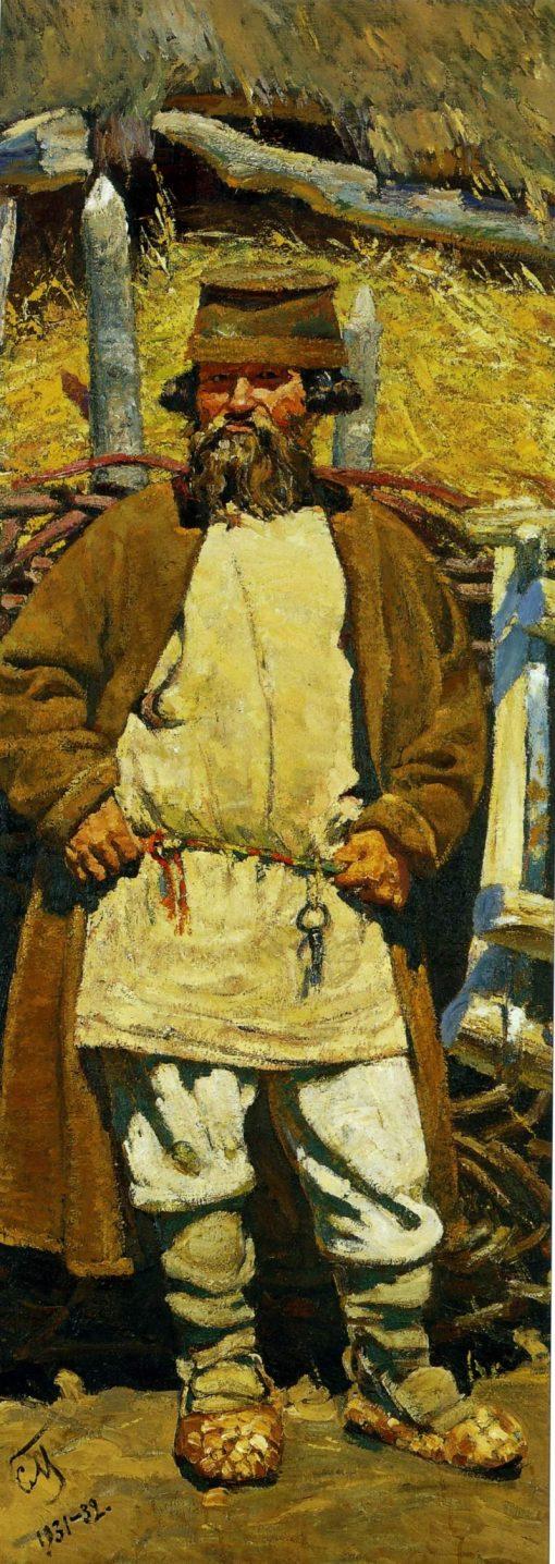 Peasant | Sergei Malyutin | Oil Painting