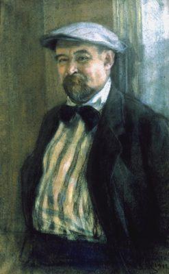 Portrait of Vasily Perepletchikov | Sergei Malyutin | Oil Painting