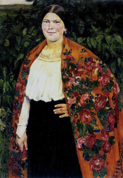 Portrait of Nastya Malikova | Sergei Malyutin | Oil Painting