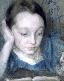 The Artists Daughter Vera | Sergei Malyutin | Oil Painting