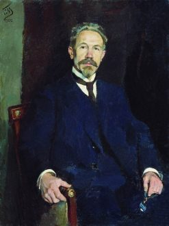 Portrait of Professor K.F. Snegirev | Sergei Malyutin | Oil Painting