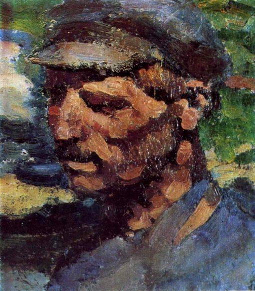Worker | Sergei Malyutin | Oil Painting