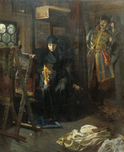 The Nun | Nikolai Matveyev | Oil Painting