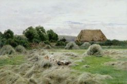 Hay Field | John Clayton Adams | Oil Painting
