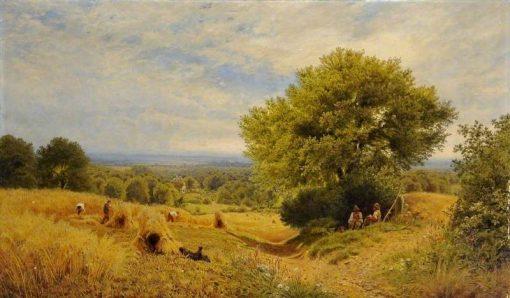 Harvest Time | John Clayton Adams | Oil Painting