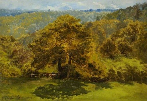 In the Surrey Woods | John Clayton Adams | Oil Painting