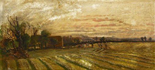 Notting Barns Farm | John Clayton Adams | Oil Painting