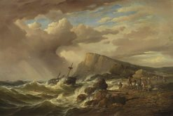 The Shipwreck | Charles Louis Verboeckhoven | Oil Painting