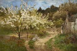 The Cherry Orchard | John Clayton Adams | Oil Painting