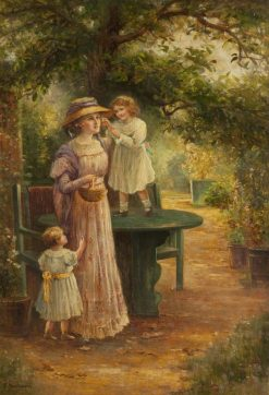 Childrens Delight | Ernest Walbourn | Oil Painting