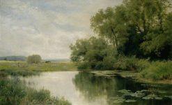 The Meadow Pool | John Clayton Adams | Oil Painting