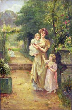 One for Baby   Ernest Walbourn   Oil Painting