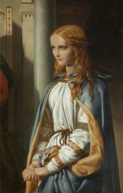 Cordelia Disinherited | John Rogers Herbert | Oil Painting