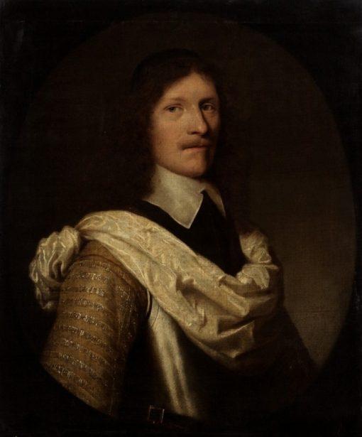 Portrait of an Officer | Jacob-Fransz van der Merck | Oil Painting