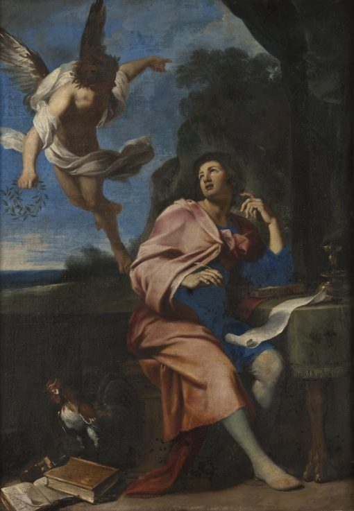 Allegory over Poetry | Giovanni Francesco Romanelli | Oil Painting