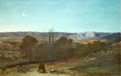 David Strangling the Lion | John Rogers Herbert | Oil Painting