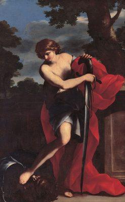 David | Giovanni Francesco Romanelli | Oil Painting