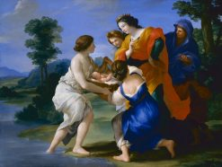 The Finding of Moses | Giovanni Francesco Romanelli | Oil Painting