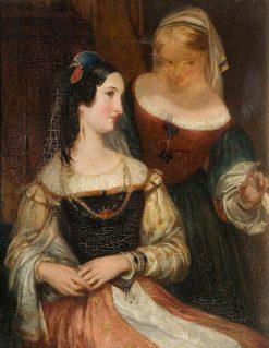 Francesca | John Rogers Herbert | Oil Painting