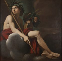 Bacchus | Giovanni Francesco Romanelli | Oil Painting