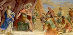 The Continence of Scipio | Giovanni Francesco Romanelli | Oil Painting