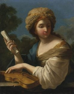 Saint Cecilia | Giovanni Francesco Romanelli | Oil Painting