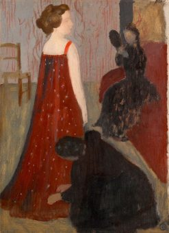 LEssayage | Maurice Denis | Oil Painting