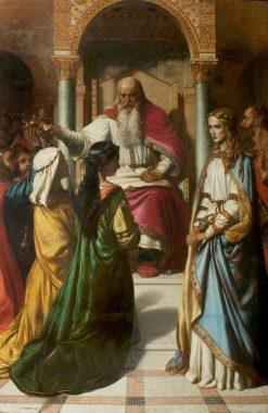 Lear and Cordelia | John Rogers Herbert | Oil Painting