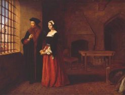 Sir Thomas More and his Daughter | John Rogers Herbert | Oil Painting