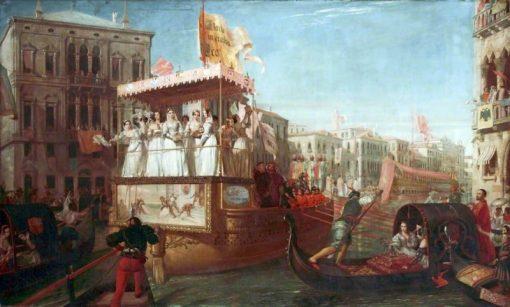 The Brides of Venice   John Rogers Herbert   Oil Painting