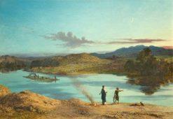 Tobias and the Fish | John Rogers Herbert | Oil Painting
