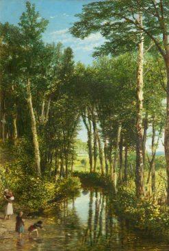 Woodland Scene | John Rogers Herbert | Oil Painting