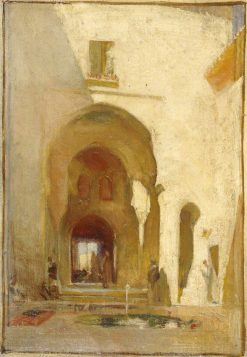 A Doorway in the Alhambra | George Murray | Oil Painting