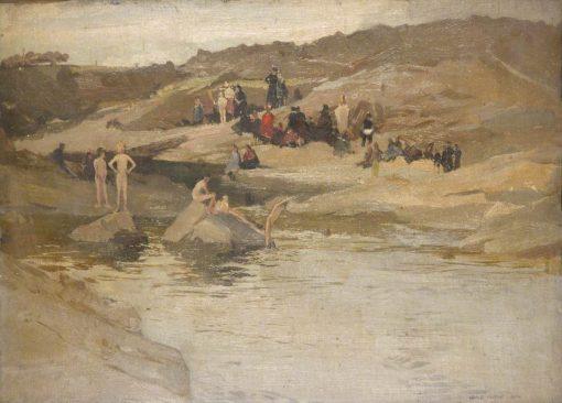 Bathing | George Murray | Oil Painting