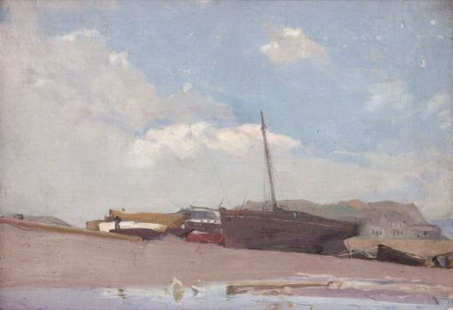 Fishing Boats   George Murray   Oil Painting