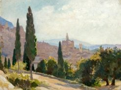 Spanish Landscape | George Murray | Oil Painting