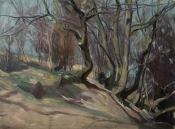 Trees at Blairgowrie | George Murray | Oil Painting