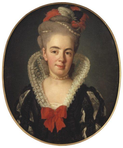 Anna Charlotta Schröderheim | Per Krafft the Elder | Oil Painting