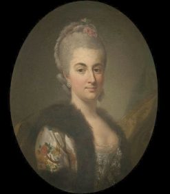 Portrait of Konstancja Czartoryska | Per Krafft the Elder | Oil Painting