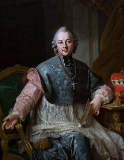 Portrait of Ignacy Krasicki | Per Krafft the Elder | Oil Painting
