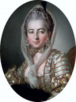 Portrait of Anna Teresa Potocka | Per Krafft the Elder | Oil Painting