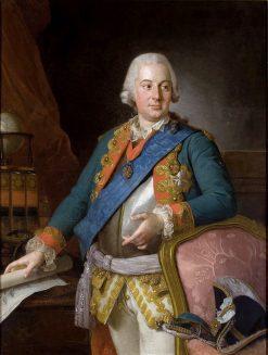 Portrait of Alois Friedrich von Bruhl | Per Krafft the Elder | Oil Painting