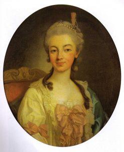 Portrait of Teresa Kinsky von Weichnitz und Tettau | Per Krafft the Elder | Oil Painting